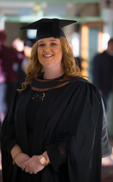 01/11/2018. Waterford Institute of Technology (WIT) Conferring Ceremonies 2018. Pictured is Caroline O'Connor Wateford. Picture: Patrick Browne