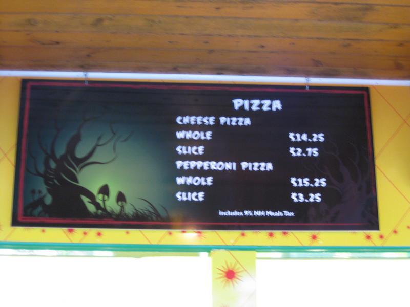 New menus at The Trellis.