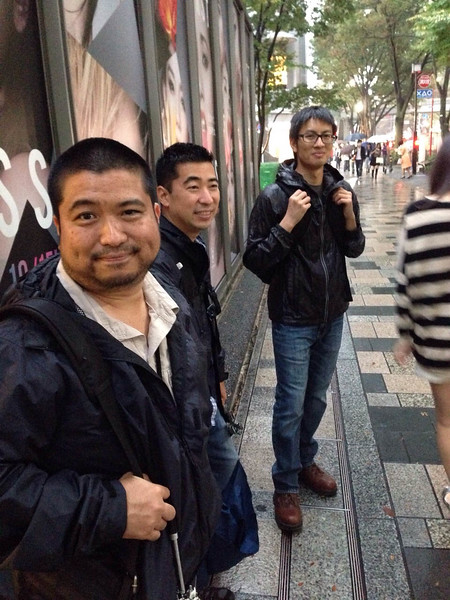 Hanging out with Eddy in Tokyo