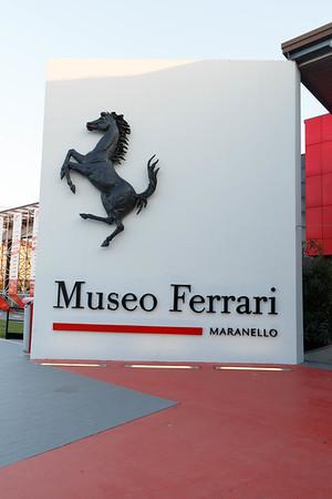 Ferrari Museum in Muranello, Italy - September 2015