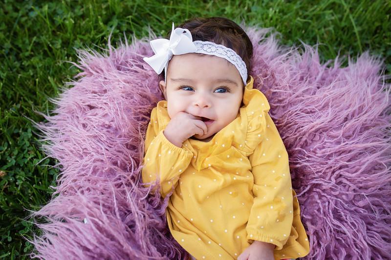 Elaina 3 Month Milestone