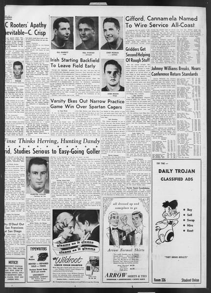 Daily Trojan, Vol. 43, No. 50, November 28, 1951