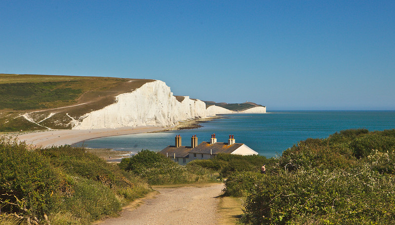 Seven Sisters view from Seaford Head