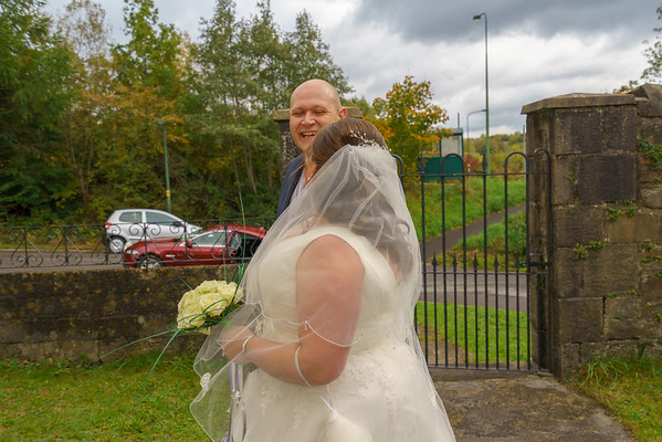 Caroline and Clive Wedding