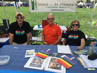 Grace at COS PrideFest - July 8-9, 2017