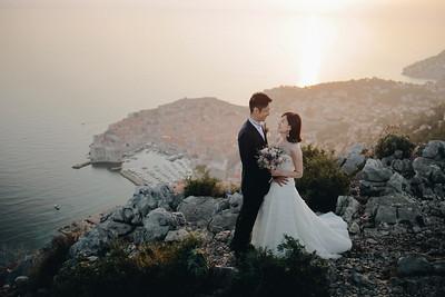 Erina & Kenichiro, Dubrovnik, Croatia