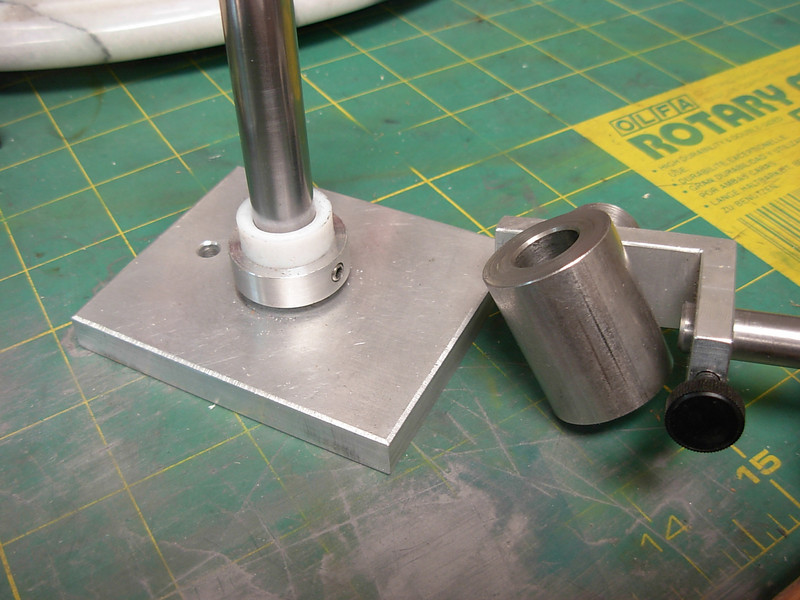 Installing the nylon spacer prior to honing or burnishing.