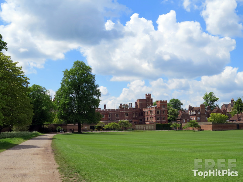 Eton College in Windsor, Berkshire, England