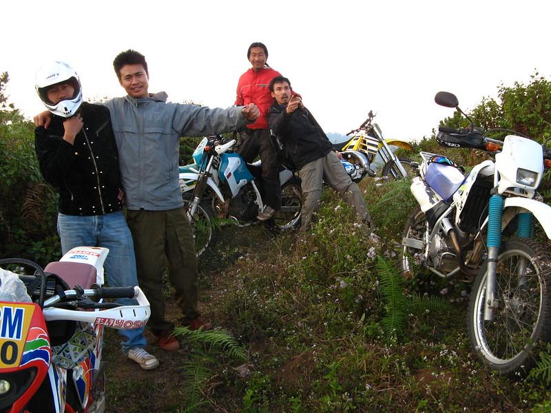 Atop a high mountain in the Mae Salong Range