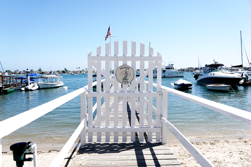 Many docks in Balboa are private, and only avalable to the homeowner.