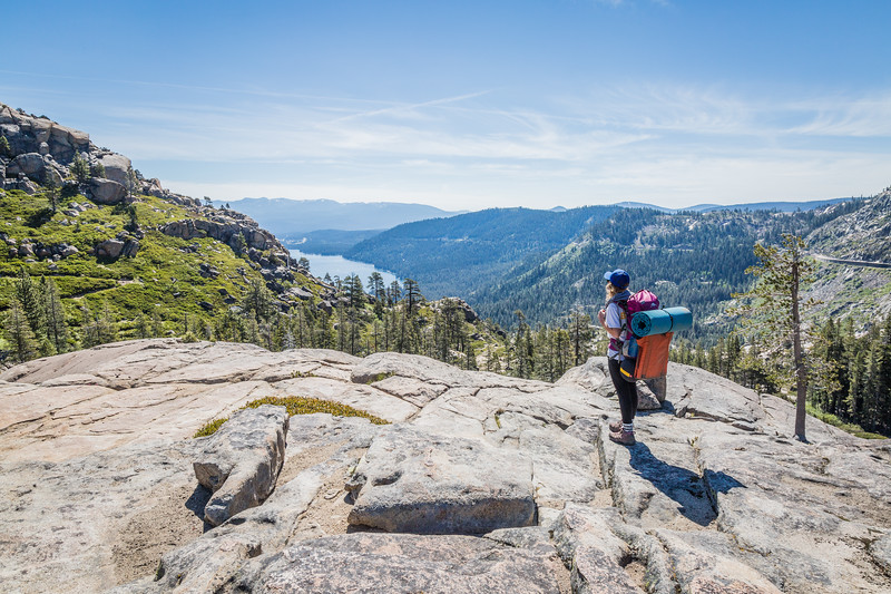 Backpacker, Donner Summit