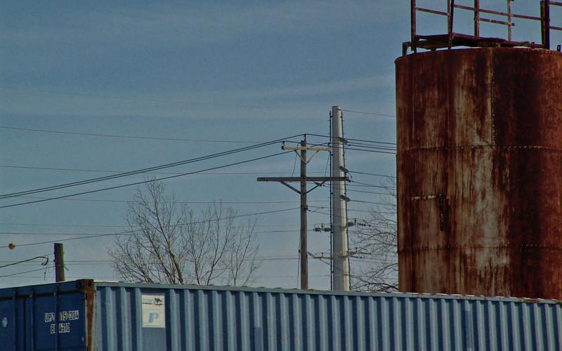 Rail Yard, Jefferson City, Missouri.