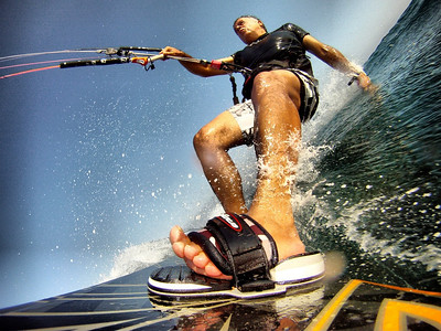 Kitesurfing - a board's perspective