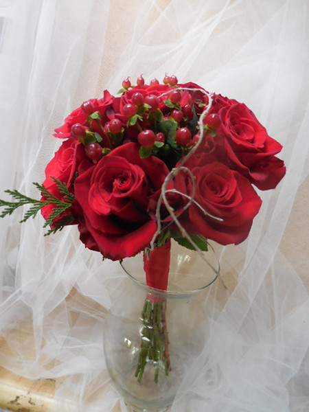 Holiday  bouquets $55