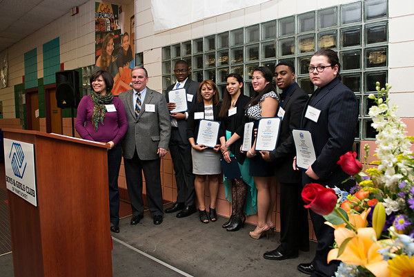 B&G Club of Pawtucket Youth of the Year 2014