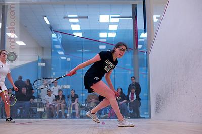 2012-02-25 Gina Giuggio (Boston College) and Zoe Becker (Haverford)