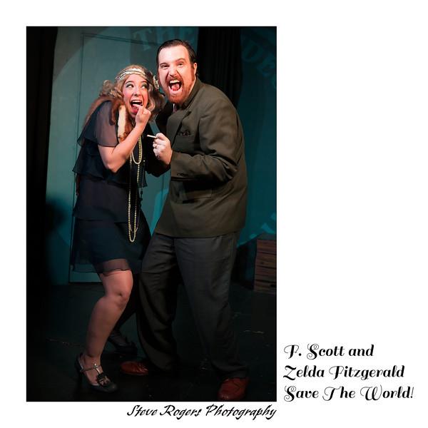 F. Scott and Zelda Fitzgerald Save The World! 4/28/2014