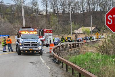 4-27-18 MVA With Injuries, Bear Mountain Bridge Road, Photos By Bob Rimm