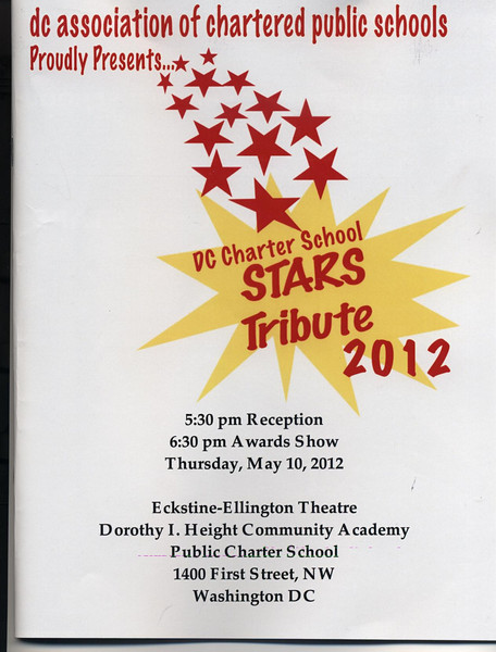 DC Charter School Stars Tribute 2012