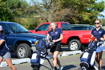 OE Girls Golf Vs Plainfield East 2019