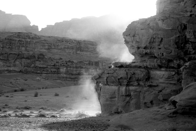 Wadi Rum Jordan Nov 22-24 2007