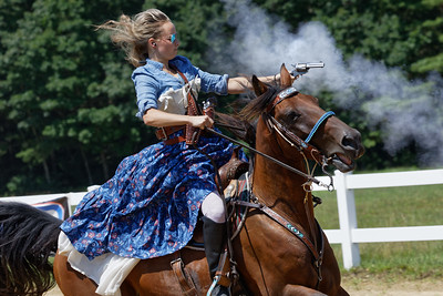 Cowboy Mounted Shoot, Barre MA