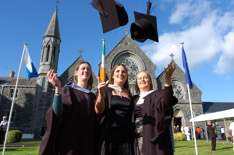 Provision 261006 Caroline O'Dowd (Kilkenny), Catherine Pembroke (Kilkenny) and Adrienne Parker (Wexford) graduated with Bachelor of Business in Recreation and Leisure from WIT yesterday (Weds). PIC Bernie Keating/Provision