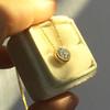 1.07ct Old European Cut Diamond AGS I SI1 Yellow Gold Bezel 10