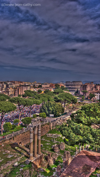 Roman Forum in HDR