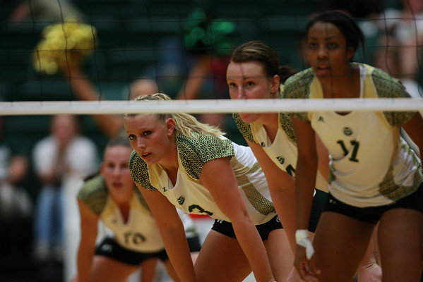 CSU vs. SDSU Volleyball 2010