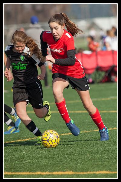 Modesto Soccer,    Spirit 5 Zip!