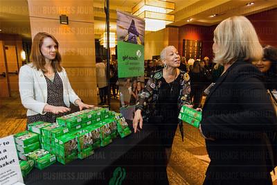 2016 Puget Sound Business Journal Women of Influence Awards dinner at the Hyatt Regency Bellevue