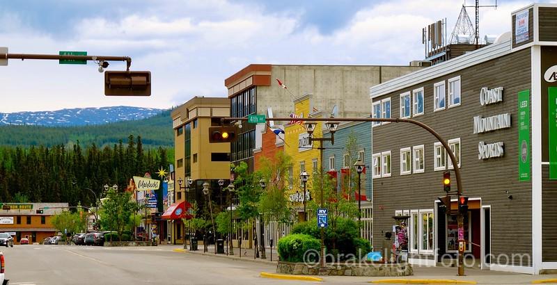 Main Street Whitehorse