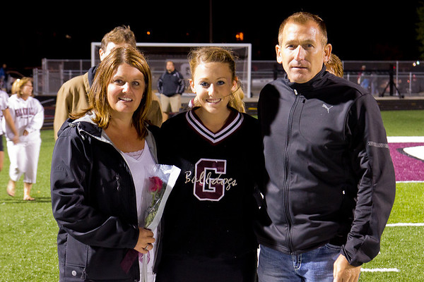 Sideline Cheer Senior Night
