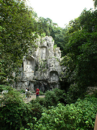 Feilaifeng caves and Lingyin temple, Hangzhou