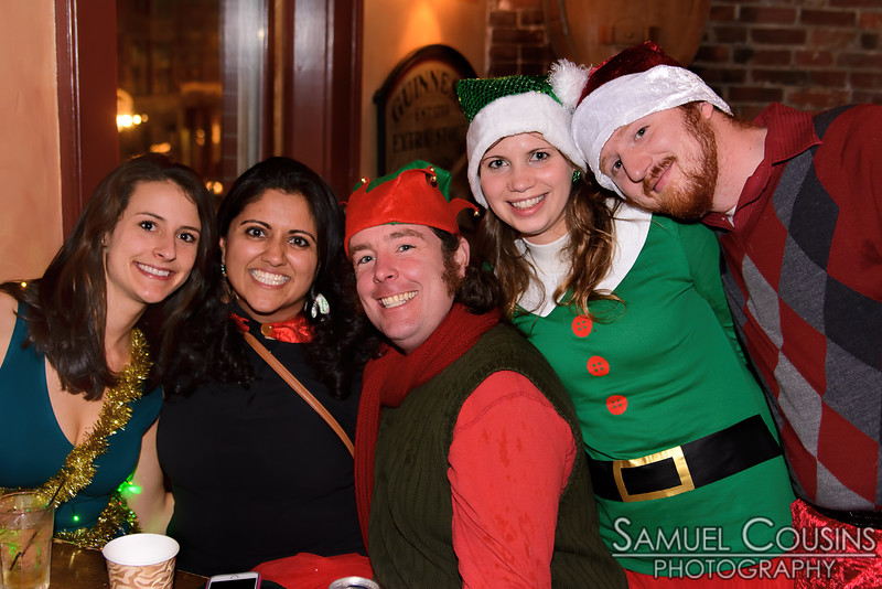 Santacon 2014 at Gritty McDuff's