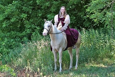 Blain and her Horse - July 4, 2008