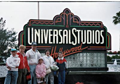1991 Pat Charlie Kids Huntington Beach Visit