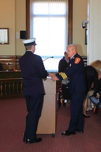 Deputy Chief Kevin Galligan Swearing In