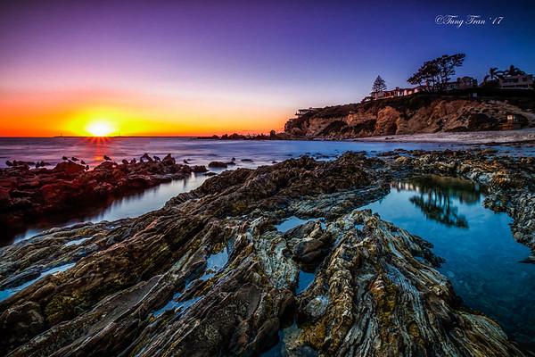 Corona Del Mar Sunset 9-21-17