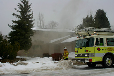 Depew Street RV Fire
