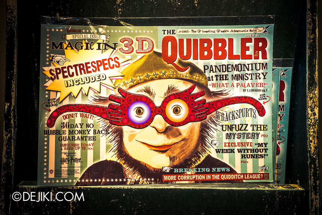 Universal Studios Japan - The Wizarding World of Harry Potter - Hogsmeade Dervish & Banges, The Quibbler