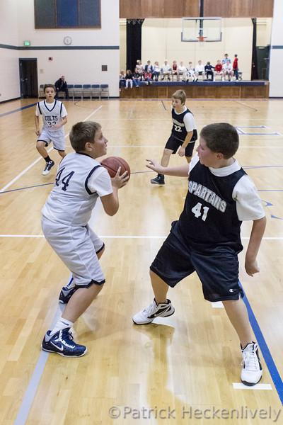 2912-11-05 Hillsdale Academy Boy's Junior High Basketball vs . Waldron