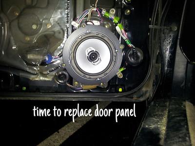 1996 Toyota Celica Front Door Speaker Installation - USA