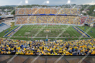 WVU vs Maryland - September 22, 2012 - Halftime