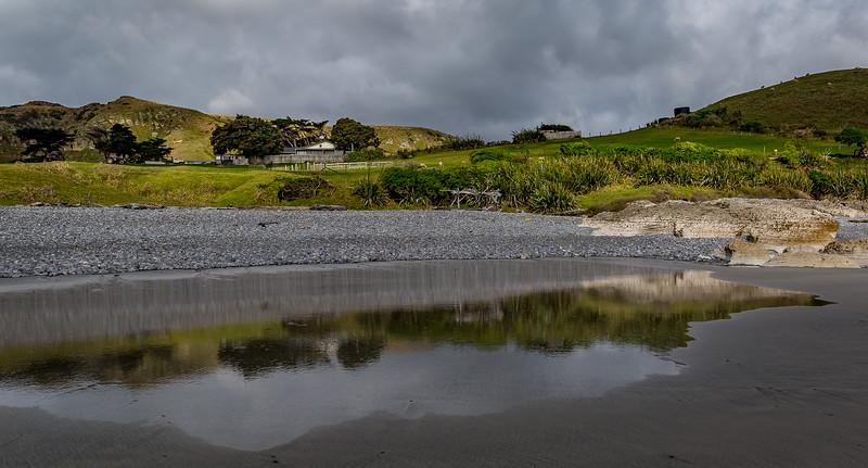 «Paturau Beach»: Bauernhof am Meer