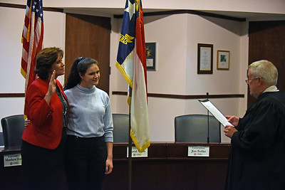 Natasha Marcus' Swearing In Ceremony