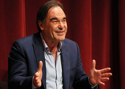 Oliver Stone visits Rider