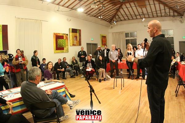01.17.10  Venice Neighborhood Council Mixer at the Electric Lodge