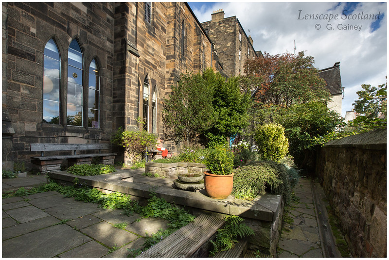 The Quiet Garden at Saint Columba's by the Castle